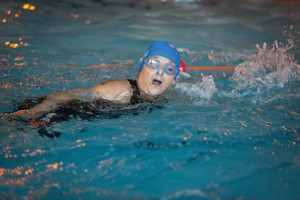 Once Kath Kendrick completed the swim – the most challenging part of the race for her – she knew she could finish the triathlon.