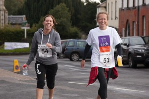 These two took the 10k in their stride