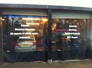 Transparent Garage Curtains
